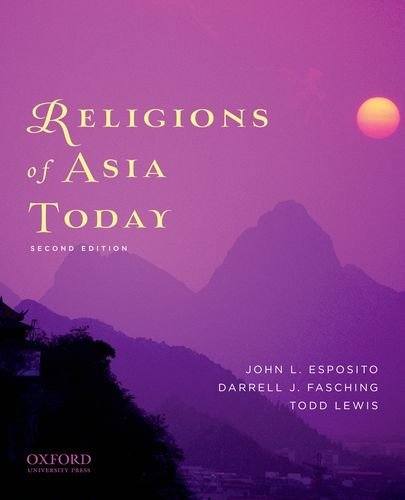 Religions of Asia Today 9780199759491