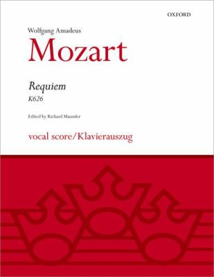 Requiem: Vocal Score 9780193376175