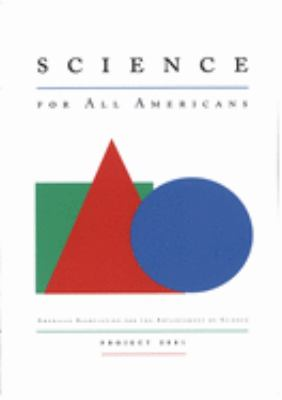 Science for All Americans 9780195067712