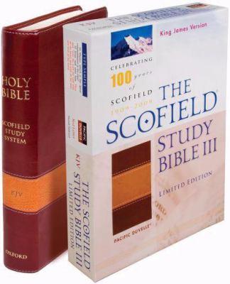 Scofield Study Bible III-KJV-Centennial 9780195279641
