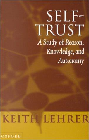 Self-Trust 9780198236948