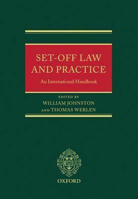 Set-Off Law and Practice: An International Handbook 9780199290772