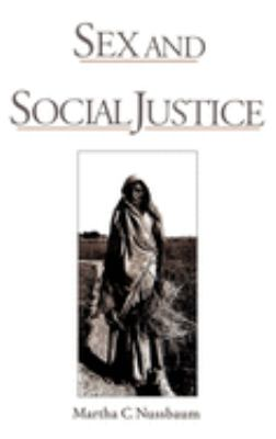 Sex and Social Justice 9780195110326