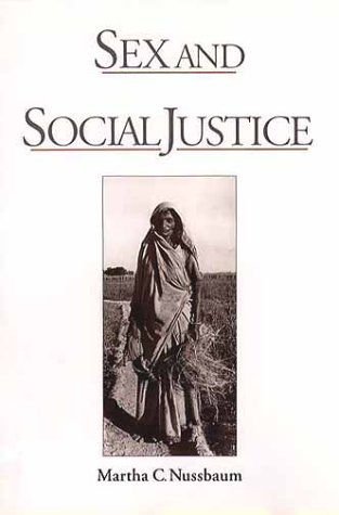 Sex and Social Justice 9780195112108