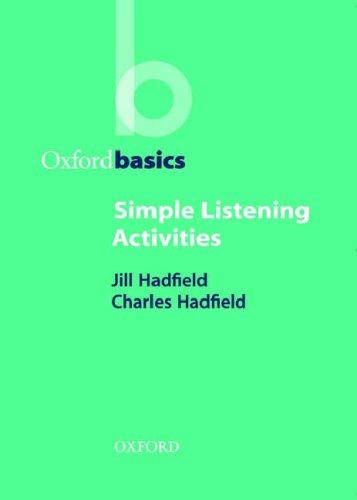 Simple Listening Activities 9780194421683