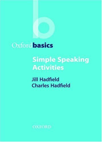 Simple Speaking Activities 9780194421690