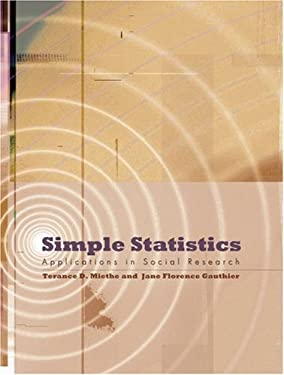 Simple Statistics Applications in Social Research 9780195332544