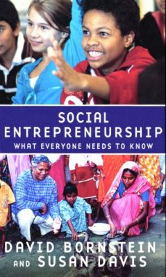 Social Entrepreneurship: What Everyone Needs to Know 9780195396348