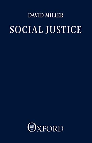 Social Justice 9780198246213