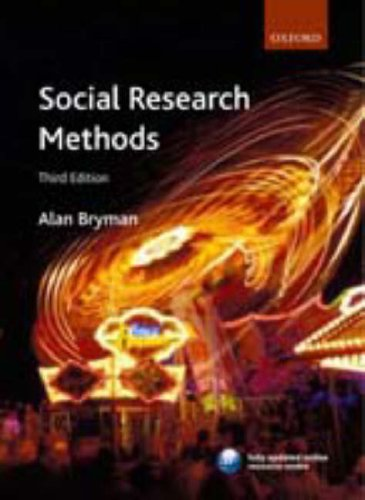 Social Research Methods 9780199202959