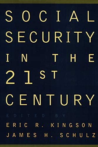 Social Security in the 21st Century 9780195104257