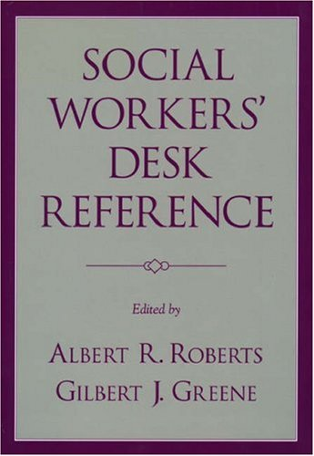 Social Workers' Desk Reference 9780195142112