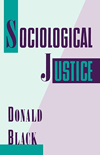 Sociological Justice 9780195085587