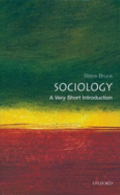 Sociology: A Very Short Introduction 9780192853806