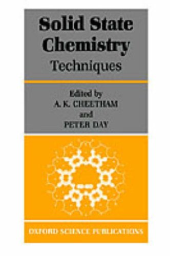 Solid State Chemistry: Volume 1: Techniques 9780198552864