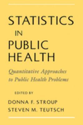 Statistics in Public Health 9780195114980