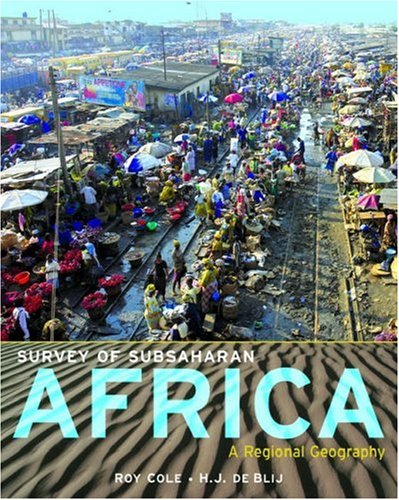 Survey of Subsaharan Africa: A Regional Geography 9780195170801