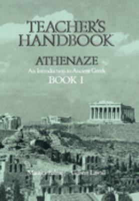 Teacher's Handbook for Athenaze, Book 1 9780195063844