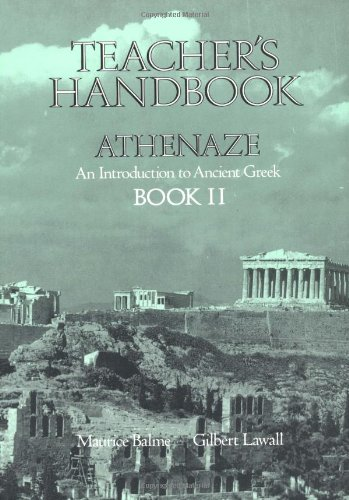 Teachers Handbook for Athenaze, Book 2