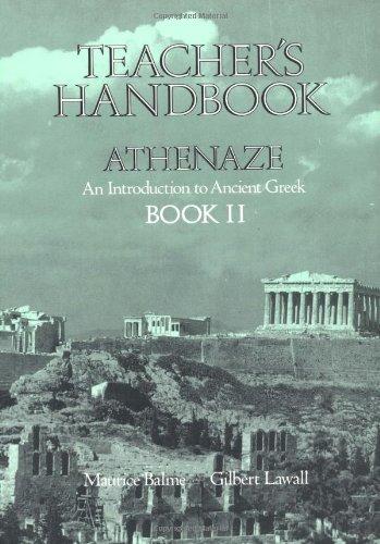Teachers Handbook for Athenaze, Book 2