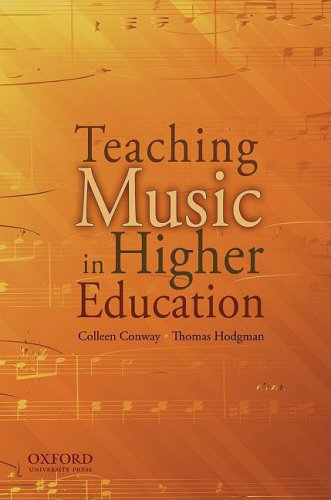 Teaching Music in Higher Education 9780195369359