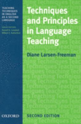 Techniques and Principles in Language Teaching 9780194355742