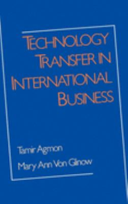 Technology Transfer in International Business 9780195062359