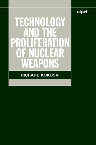 Technology and the Proliferation of Nuclear Weapons 9780198291701