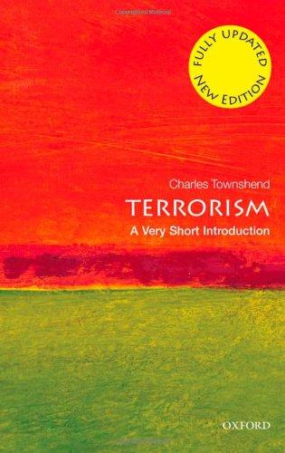 Terrorism 9780199603947