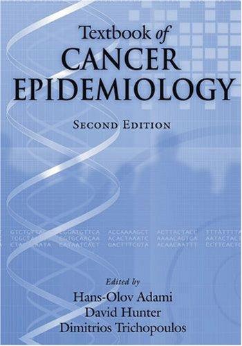 Textbook of Cancer Epidemiology 9780195311174