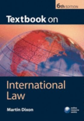 Textbook on International Law 9780199208180