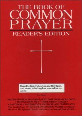 The 1979 Book of Common Prayer, Reader's Edition 9780195287653