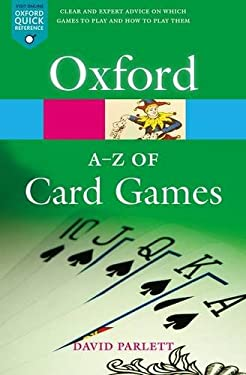 The A-Z of Card Games 9780198608707