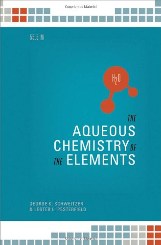 The Aqueos Chemistry of the Elements 9780195393354