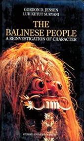 The Balinese People: A Reinvestigation of Character
