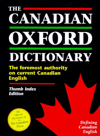 The Canadian Oxford Dictionary: Thumb-Indexed 9780195411201