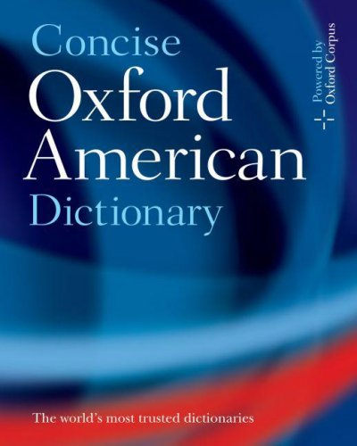The Concise Oxford American Dictionary 9780195304848