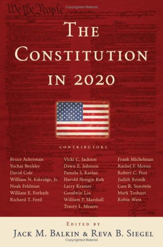 The Constitution in 2020 9780195387971