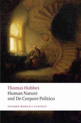 Human Nature & de Corpore Politico 9780199549702