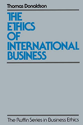 The Ethics of International Business 9780195074710