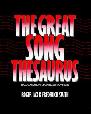 The Great Song Thesaurus 9780195054088