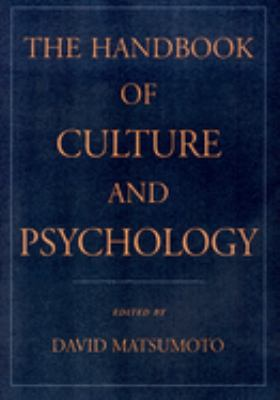 The Handbook of Culture and Psychology 9780195131819