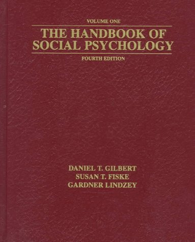 The Handbook of Social Psychology: 2-Volume Set 9780195213768