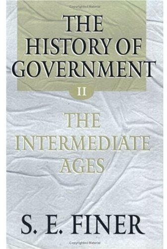 The History of Government from the Earliest Times 9780198207900