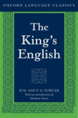 The King's English 9780198605072