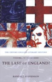 The Last of England?: 1960-2000 581983