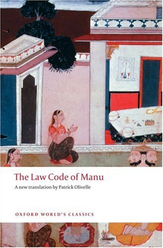 The Law Code of Manu by Patrick Olivelle - Reviews, Description ...