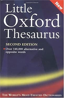 The Little Oxford Thesaurus 9780198604617