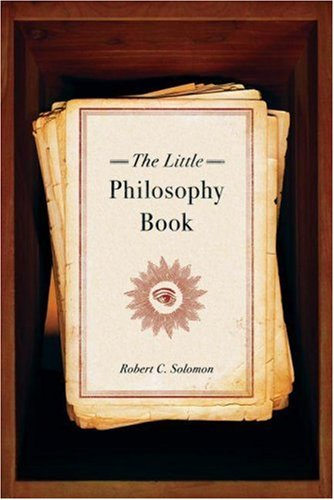 The Little Philosophy Book 9780195311143
