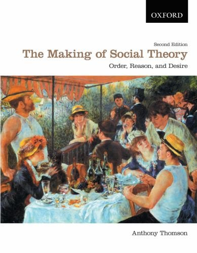The Making of Social Theory: Order, Reason, and Desire 9780195430301